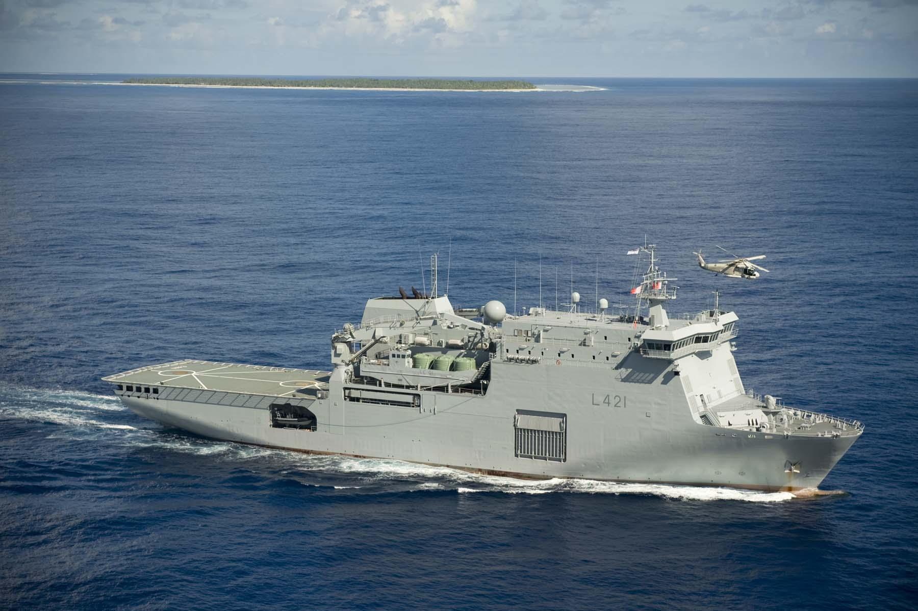 Albion Castle Strategic Sealift Hmnzs Canterbury L421 Largest Ship In